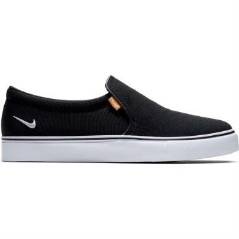 Nike Court Royale AC Slip On Ladies (Black White) 8