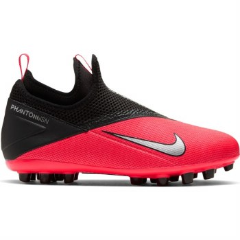 Nike Junior Phantom VSN 2 Academy (Crimson/Black) 1