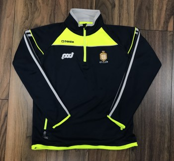 O'Neills Clare Aston 1/2 Zip (Navy/Flo Yellow) 9-10