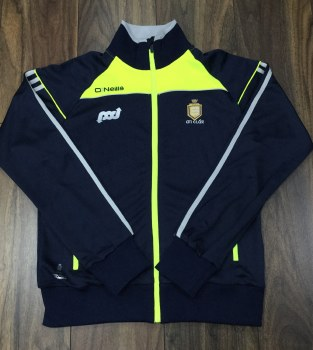 O'Neills Clare Aston Full Zip (Navy Flo Yellow) 9-10