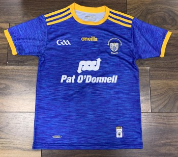 O'Neills Clare Home Goalkeeper Jersey (Royal Amber) Medium