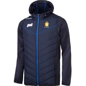 O'Neills Clare Holland 72 Full Zip Padded Fleece Jacket (Navy Royal Amber) Age 5-6