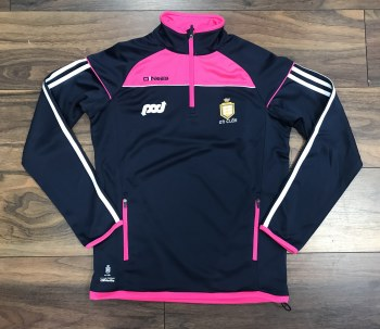 O'Neills Clare Ladies Aston 1/2 Zip (Navy Fo Pink) Age 13