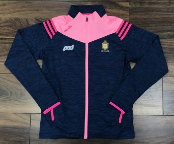 O'Neills Clare GAA Colorado Ladies Full Zip (Melange Navy Pink) 9-10