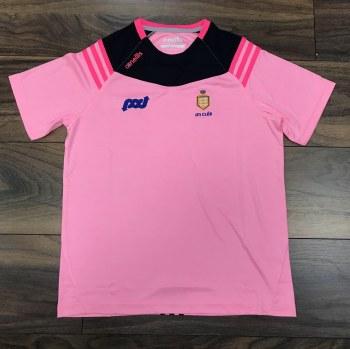 O'Neills Clare GAA Colorado Ladies Tee (Melange Pink Navy) 16