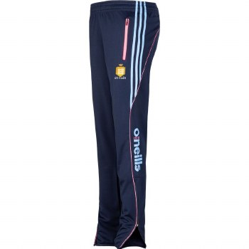 O'Neills Clare Lds Solar Skinny Squad Pants (Navy Pink Blue) UK8