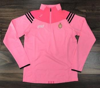 O'Neills Clare GAA Colorado ladies Brushed Half Zip (Melange Pink) 8