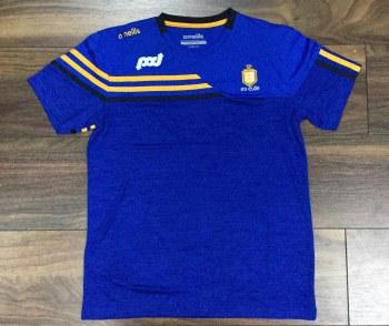O'Neills Clare Nevis Tee Shirt (Royal Marl Royal Amber Navy) 5-6
