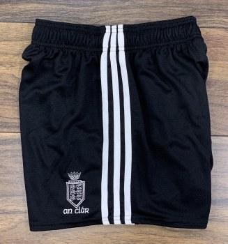 O'Neills Clare Training Mourne Shorts (Black White) 3-4