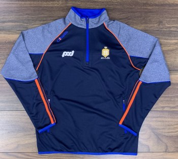 O Neills Dillon Squad Half Zip (Navy Royal Flo Orange) 13-14
