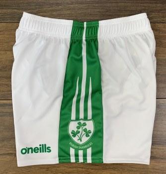 O'Neills Kilrush Shamrocks Gaelic Shorts (White Green) 28