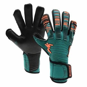 Precision Junior Elite 2.0 Goal Keeper Gloves (Green Orange Black) 6