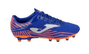 Joma Propulsion 904 Hard Ground Football Boots (Blue Orange) 6.5