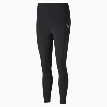 Puma NU-TILITY High Waist 7/8 Leggings (Black) Small