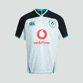 Canterbury Ireland Vapodri Alt Pro Junior Jersey 2019-20 (White Green) 14