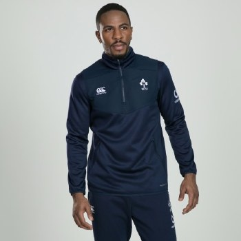 Canterbury Ireland Thermoreg 1/4  Zip Top  2019-20 (Navy) XL