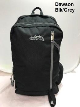 Ridge 53 Dawson Backpack (Black Grey)