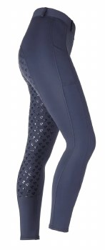 Aubrion Albany Riding Tights (Navy) 11-12