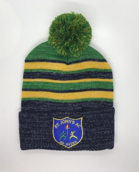 CS St Johns A.C. Bobble Hat