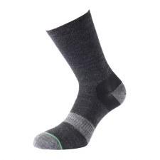 1000 Mile Approach Mens Walking Sock (Black) 9 to 11.5 Uk