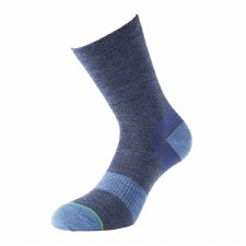 1000 Mile Approach Womens Walking Sock (Navy Blue) 3 to 5.5 Uk