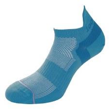 1000Mile Trainer Liner Ladies (Teal Blue) 3 to 5.5Uk