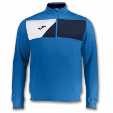 Joma Crew II Half Zip Sweat (Royal Navy White) 4