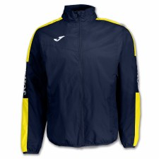 Joma Champion IV Rain Jacket (Navy Yellow) Medium