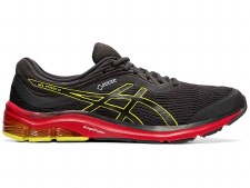 Asics Gel Pulse 11 GTX Mens (Grey Red Yellow) 10