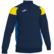 Joma Crew III Half Zip Sweat (Navy Royal Yellow) 12