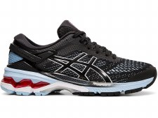 Asics Gel Kayano 26 Ladies (Black Blue) 6.5