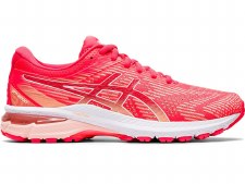 Asics GT 2000 8 Ladies (Pink Coral White) 5