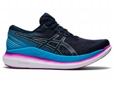 Asics GlideRide 2 Womens (Navy Purple Blue) 6