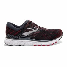 Brooks Transcend 6 Mens (Black Red White) 10