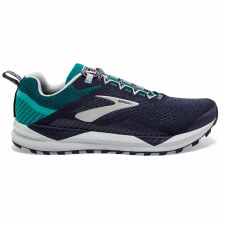 Brooks Cascadia 14 Mens (Navy Green Silver) 9
