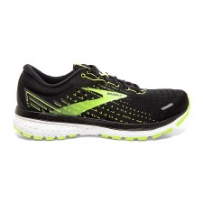 Brooks Ghost 13 Mens (Black Yellow) 8