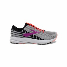 Brooks Launch 6 Ladies (Grey Purple Coral) 6