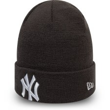 New Era MLB NY Beanie (Black White)