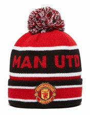 New Era Man Utd  Jake  Knit (Black Red White)