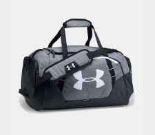 UA Undeniable Medium Duffel 3.0 (Grey Black)