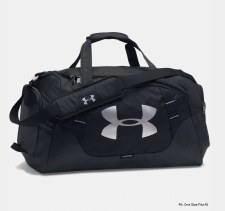 UA Undeniable Large Holdall 3.0  (Black Silver)