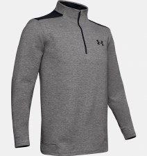 Under Armour Storm Golf 1/2 Zip (Grey Black) Medium