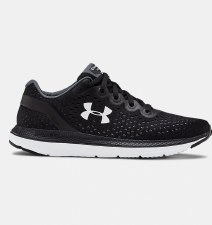 Under Armour Charged Impulse Womens (Black White) 8