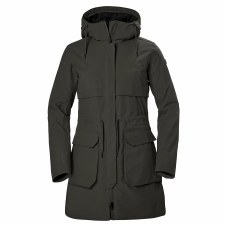 Helly Hansen Womens Boyne Parka Jacket (Beluga) Small
