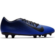 Nike Bravata II Firm Ground Boots (Blue Black) 9