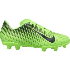 Nike Bravata II Firm Ground Jnr (Green Black) 11