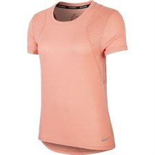 Nike Run Top Short Sleeve (Peach) Medium