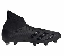 Adidas Predator 20.3 Soft Ground (Black Black) 6.5