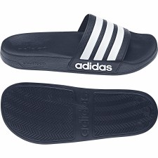 Adidas Adilette Shower Slide (Navy White) 4