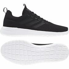 Adidas Lite Racer CLN Mens (Black White) 10